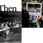 Conferences: Then and Now by @JennG_