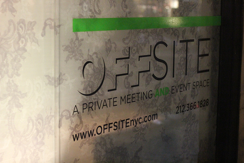 Offsite NYC was our third and final stop for the night. An innovative and tech-focused venue, this stop on the crawl was the perfect find for many meeting planners!