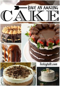 Bake an amazing cake