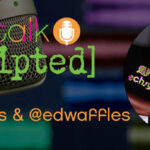 Our Podcast: techsytalk unscripted with @lizkingevents and @edwaffles