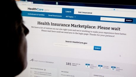 HealthCare Website Please Wait