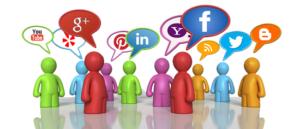 Using social media for community
