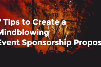 event sponsorship proposal