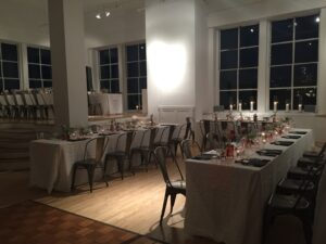 7) Seated Dinner