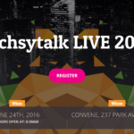 REGISTRATION NOW OPEN!! techsytalk LIVE 2016