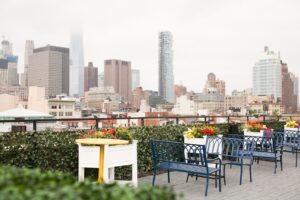 Bowery roof garden