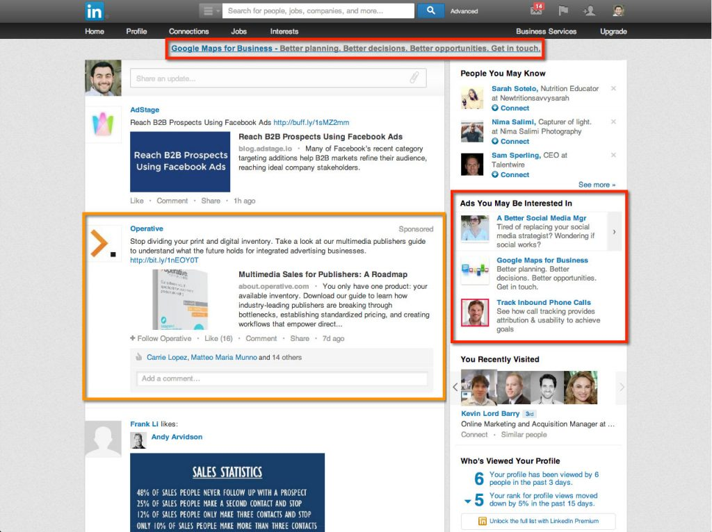 where-linkedin-ads-display